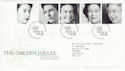2002-02-06 Golden Jubilee Stamps T/House FDC (61610)