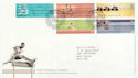 2002-07-16 Commonwealth Games Manchester FDC (61624)