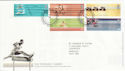 2002-07-16 Commonwealth Games T/House FDC (61627)