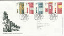 2002-10-08 Pillar to Post Stamps T/House FDC (61629)