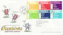 2003-02-04 Occasions Stamps T/House FDC (61648)