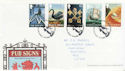 2003-08-12 Pub Signs Stamps Cross Keys FDC (61652)