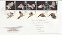 2003-01-14 Birds of Prey Stamps Hawkshead FDC (61659)