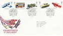 2003-09-18 Transports of Delight Stamps Toye FDC (61661)