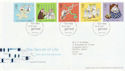 2003-02-25 Secret of Life Stamps T/House FDC (61664)