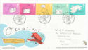 2004-02-03 Occasions Stamps Merry Hill FDC (61682)