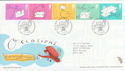 2004-02-03 Occasions Stamps Merry Hill FDC (61683)