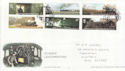 2004-01-13 Classic Locomotives Stamps York FDC (61686)