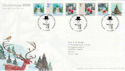 2006-11-07 Christmas Stamps T/House FDC (61701)