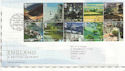 2006-02-07 England A British Journey T/House FDC (61702)