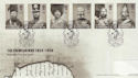 2004-10-12 The Crimean War Stamps BF 2811 PS FDC (61708)