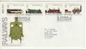 1975-08-13 Railways Stockton On Tees FDC (61776)
