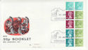 1977-01-26 50p Booklet pane Windsor FDC (61864)