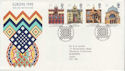 1990-03-06 Europa Buildings Glasgow FDC (61869)
