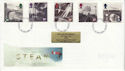 1994-01-18 Steam Railway Stamps York FDC (61951)