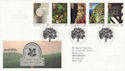 1995-04-11 National Trust Stamps Bureau FDC (61959)