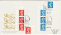 1993-10-05 Definitive NVI Stamps Coventry FDC (62039)