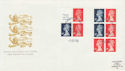 1988-09-05 Discount Booklet Stamp Combo Windsor FDC (62067)