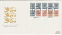 1984-09-03 Booklet Stamps Windsor FDC (62068)