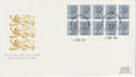 1984-09-03 Booklet Stamps Windsor FDC (62069)