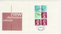 1976-03-10 Booklet Stamps Bangor FDC (62074)