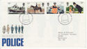 1979-09-26 Police Stamps London SW FDC (62081)