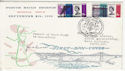 1964-09-04 Forth Road Bridge S Queensferry Signed FDC (62140)