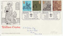 1976-09-29 Caxton Printing Stamps PPSG London FDC (62184)
