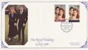 1986-07-22 Royal Wedding London SW1 FDC (62262)