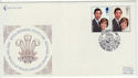 1981-07-22 Royal Wedding Stamps Lullingstone FDC (62271)
