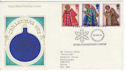 1972-10-18 Christmas Stamps Bethlehem FDC (62277)