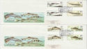 1983-01-26 Fish Gutter Stamps Salmon Leap x2 FDC (62294)