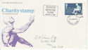 1975-01-22 Charity Stamp Altrincham H PO FDC (62298)
