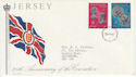 1978-06-26 Jersey Coronation Stamps FDC (62375)