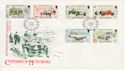 1985-05-25 IOM Century of Motoring Stamps FDC (62456)