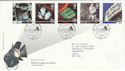 1996-04-16 Cinema Stamps London WC2 FDC (62507)