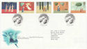 1996-10-28 Christmas Stamps Bethlehem FDC (62526)