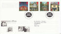 1997-08-12 Post Offices Stamps Bureau FDC (62531)