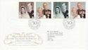 1997-11-13 Golden Wedding London SW1 FDC (62541)