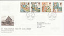 1997-03-11 Missions of Faith Isle of Iona FDC (62556)