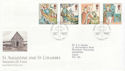 1997-03-11 Missions of Faith Isle of Iona FDC (62557)