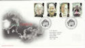 1997-05-13 Tales of Terror Stamps Bureau FDC (62560)