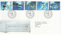 1997-06-10 Architects of the Air Bureau FDC (62562)
