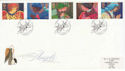 1998-11-02 Christmas Angels Nasareth FDC (62573)