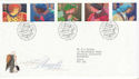 1998-11-02 Christmas Angels Bethlehem FDC (62574)