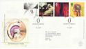 1999-01-12 Inventors Tale Stamps Greenwich FDC (62607)