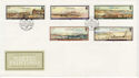 1985-11-19 Guernsey Naftel Paintings Stamps FDC (62652)