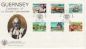 1982-04-28 Guernsey La Societe Stamps FDC (62654)