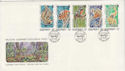 1989-11-17 Guernsey Wildlife Stamps FDC (62691)