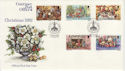 1982-10-12 Guernsey Christmas Stamps FDC (62700)